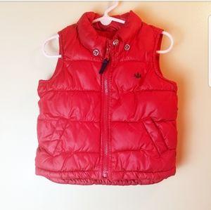 Oldnavy Red Puffer Vest for kids